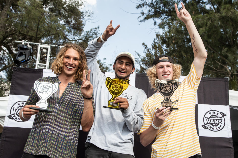 1st Michael Mogollon, 2nd Parker Heath, 3rd Jayden Mucha  Photo: Rob Dolecki </span>