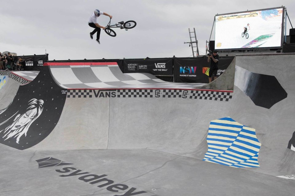 Sergio Layos, 2017 Vans BMX Pro Cup Sydney Winner   Photo: Colin Mackay</span>